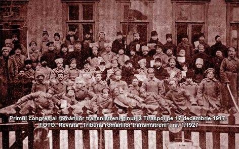 1917 congresul_romanilor_transnitreni Tiraspol 17 dec 1917